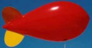 17ft. blimp - hundreds of advertising blimps in stock for sale